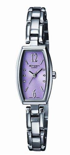 Casio Casio Collection Damen SHN-4008D-4AEF - Reloj de mujer de cuarzo con correa de acero inoxidable plateada
