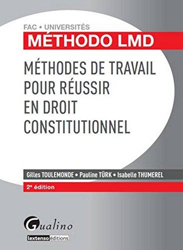 Méthodo LMD - Méthodes de travail pour réussir en
