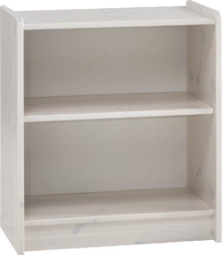 Steens For Kids Regal, 1 verstellbarer Einlegboden, 64 x 72 x 38 cm (B/H/T), Kiefer massiv, weiß -