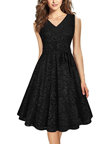 Karm Enterprise Fancy Frocks for women western wear knee length (Free Size Black)