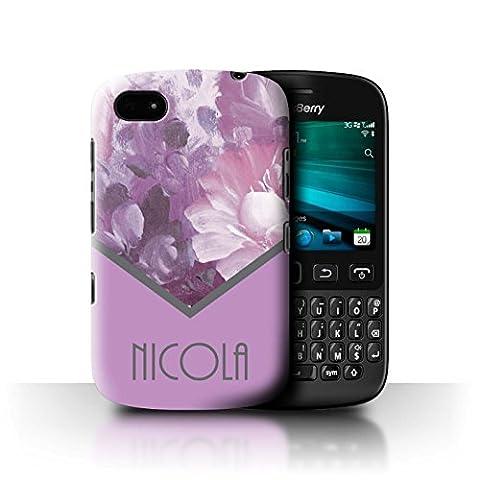 Coque Pour Blackberry 9720 - Personnalisé Florales Coutume Coque pour Blackberry 9720