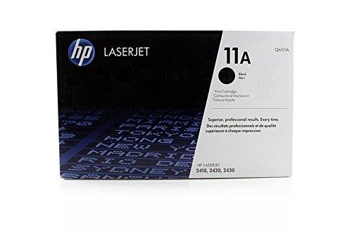 Original Toner passend für HP LaserJet 2420 HP 11A , 11ABK , 11ABLACK , NO11A , NO11ABK , NO11ABLACK Q6511A - Premium Drucker-Kartusche - Schwarz - 6.000 Seiten Hp Q6511a