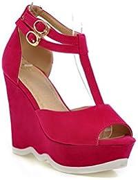 Sandali rossi per donna Adeesu