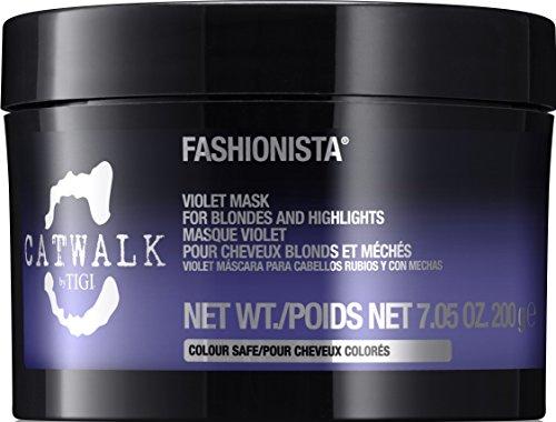 Tigi CATWALK Fashionista Violet Mask, 1er Pack (1 x 200 g)