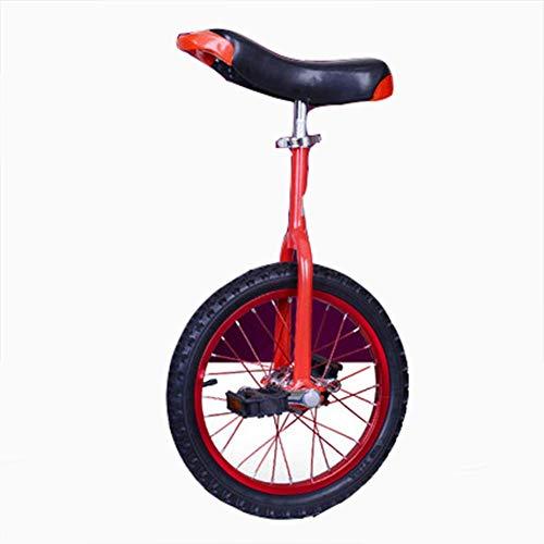 """BUDBYU Einrad, einstellbares Fahrrad 16\""""18\"""" 20\""""Trainer 2,125\"""" rutschfeste Butyl Mountain Reifen Balance Radfahren Übung Verwenden Sie für Anfänger Kinder Erwachsene Fun Fitness"""