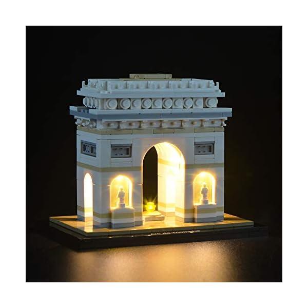 LIGHTAILING Set di Luci per (Architecture Arco di Trionfo) Modello da Costruire - Kit Luce LED Compatibile con Lego… 1 spesavip