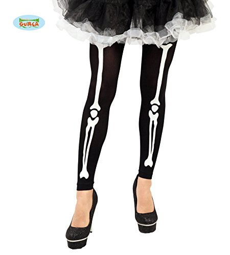Guirca Fiestas GUI18337 - - Skelett Kostüm Strumpfhose