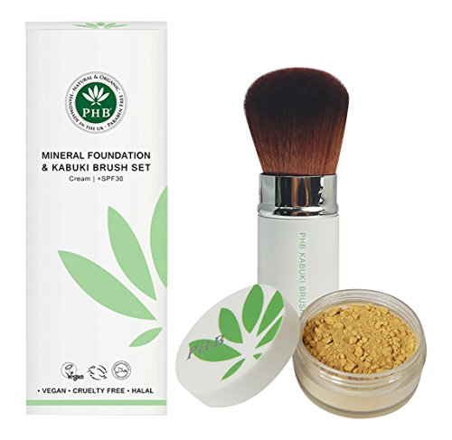 phb-color-mineral-fundacin-y-kabuki-brush-set-marrn-avellana