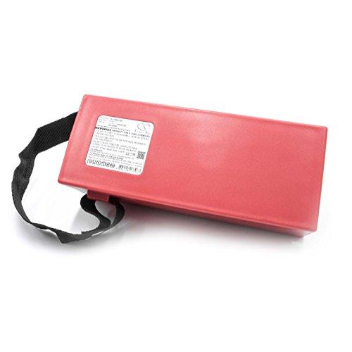 vhbw NiMH batteria 9000mAh per misuratore dispositivo di misurazione laser Leica GPS Totalstation, Theodolite, TM6100A, Total station, TDRA6000