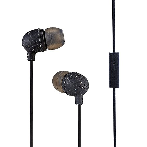 House of Marley Little Bird EM-JE061 In-Ear Headphones with Mic (Black)