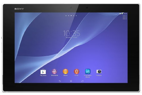 "Sony Xperia Tablet Z2 SGP512 (10,1"" Tablet-PC, Touchscreen, 2,3 GHz-Quad-Core-Processore, 3GB RAM, 32GB HDD, Android 4.4) bianco [Europa]"