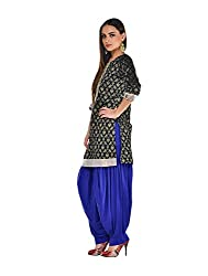 Women Royal Blue Dhoti Patiala Salwar (XXXXL)