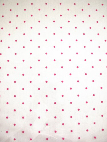 Pink Dot Cellophane Wrap - 5m x 80cm