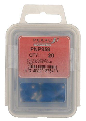 confezione da 100 colore: Argento Fascette fermacavo per copricerchi Pearl Automotive PTW08