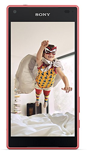 Sony Xperia Z5 Compact Smartphone (4,6 Zoll (11,7 cm) Touch-Display, 32 GB interner Speicher, Android 5.1) koralle Razr-handy-fall
