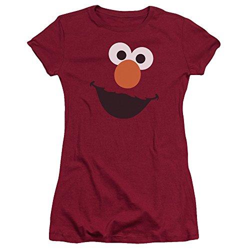 Sesame Street Damen T-Shirt Scharlachrot