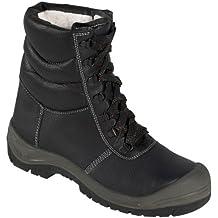 Winter-Schnürstiefel Sicherheits-Stiefel Sicherheitsschnürstiefel SAALFELD ÜK - S3 - mit Stahlkappe - schwarz/grau - Größe: 37