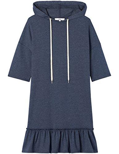 FIND Damen Kleid Blau (Navy Marl)