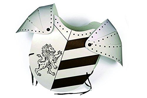 König Löwenherz Kostüm Richard - Legler 7388 - Ritterharnisch Löwe aus lackierter Pappe