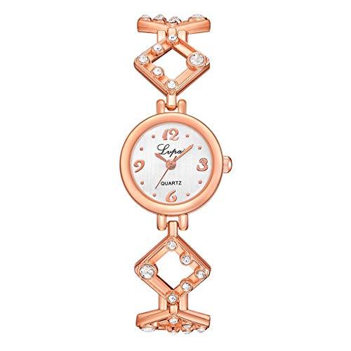Billig Kostüm Einfach Männlich Und - XZDCDJ Damen Armbanduhr Gold Europäische und amerikanische einfache beiläufige kleine und zarte Damen Armbanduhr Damen Uhren Billig A