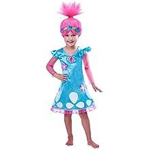Child Girls Trolls Poppy Costume