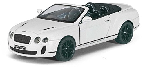 Kinsmart 1:38 Scale 2010 Bentley Continental Die-Cast Car with Openable Doors & Pull Back Action  available at amazon for Rs.299
