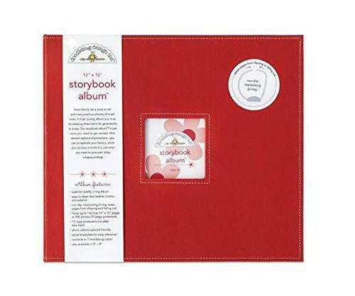 Album 30,5x30,5cm, D-ring Marienkäfer, Doodlebug Design Inc, 30x30cm, Alba Blöcke, Scrapbooking Papier - Doodlebug Doodlebug Design Album