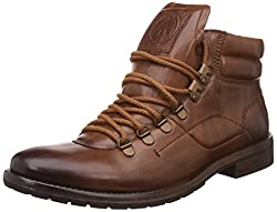 Alberto Torresi Mens Anvik Tan Boots - 11 UK/India (45 EU)