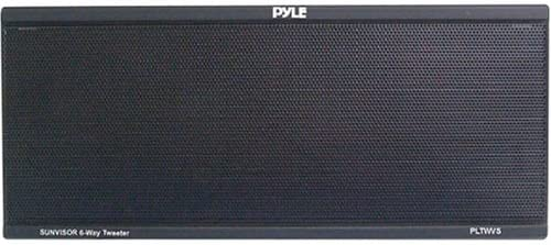 PYLE PLTWVS 6-Way Sunvisor Mount 200 Watt Tweeter System