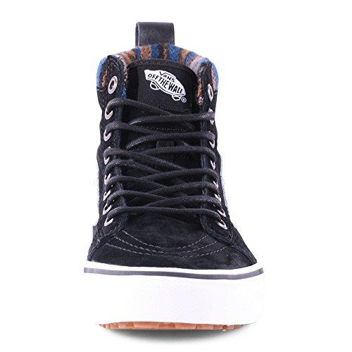 VANS Classic SK8-HI MTE Scochguard 3M Sneaker skate leater Knit Geo-Black