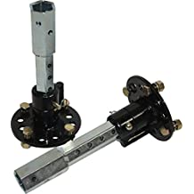 Bricoferr PT00321 - Eje de desbloqueo para motoazada (23 mm, extensible)