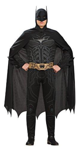 Dark Batman Kostüm Knight - Rubie's Batman - Dark Knight Kostüm für Erwachsene - Größe L