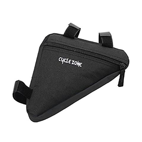 OverDose Outdoor Triangle Cycling Bike Saddle Pannier Front Tube Frame Pouch Bag Holder