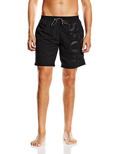BOSS Herren Badeshorts Orca, Schwarz (Black 007), Medium