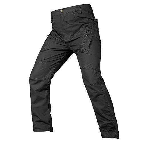 Rcool Pantaloni Uomo Lunghi Cargo con Tasche Tattici Militari Pantalone da Lavoro con Cerniera Casuale All'aperto 8 Colore S-5XL,