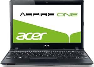 Acer Aspire One 756 29,5 cm (11,6 Zoll) Netbook (Intel Celeron 1007U, 1,5GHz, 2GB RAM, 500GB HDD, Intel HD, Win 8) schwarz