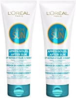 L'Oréal Paris Lait Après-Soleil Réparateur Visage & Corps Lot de 2X200 ML