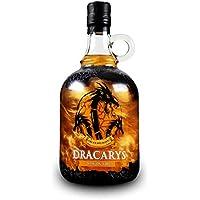 Dracarys Fire 70 cl - Licor a base de vodka con sabor a tofe, fuego de dragón