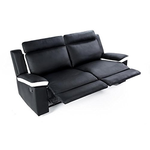 Zen, divano relax a 3 posti, dimensioni: 96 x 93 x 190, in ...