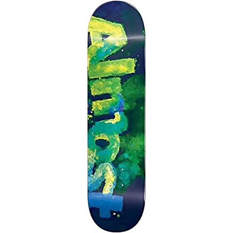 Almost 10023935 Blotchy Deck, Green, Size 8.0