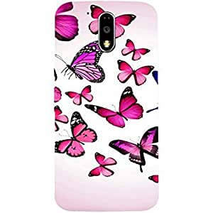Customizable Hamee Original Cover Thin Fit Plastic Hard Back Case Cover for Lenovo K6 Power Butterfly 2
