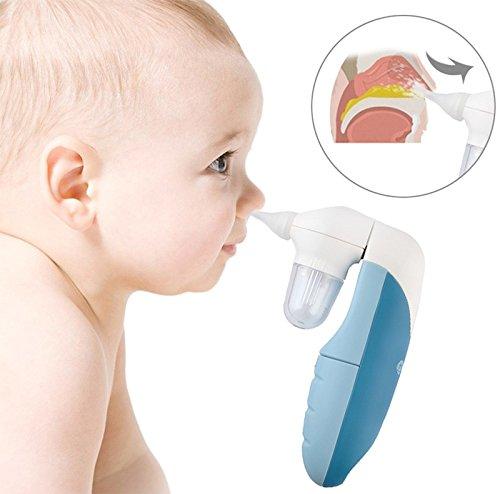 Elektrischer Nasensauger Nasensekretsauger Baby Aspirator Nasen Reiniger #3719 | Bei verstopften Babynäschen