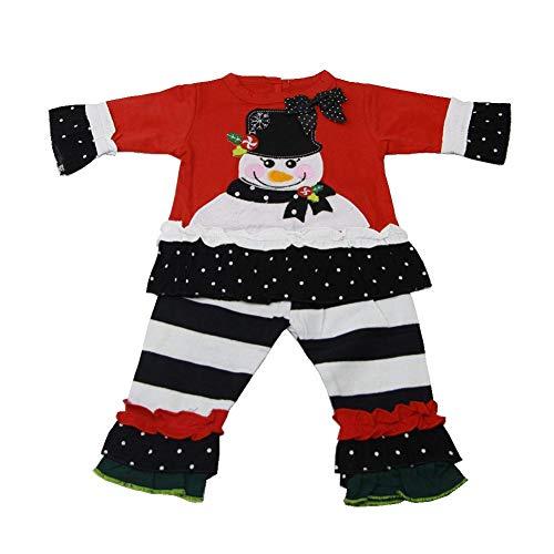 Lebensechte Reborn Puppe Zubehör Mädchen Puppe Kleidung Kinder Spielzeug, Schneemann Puppe Kleidung für Reborn Babypuppen