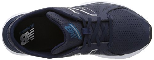 New Balance Women's W690V4 Running Shoe Navy/Silver