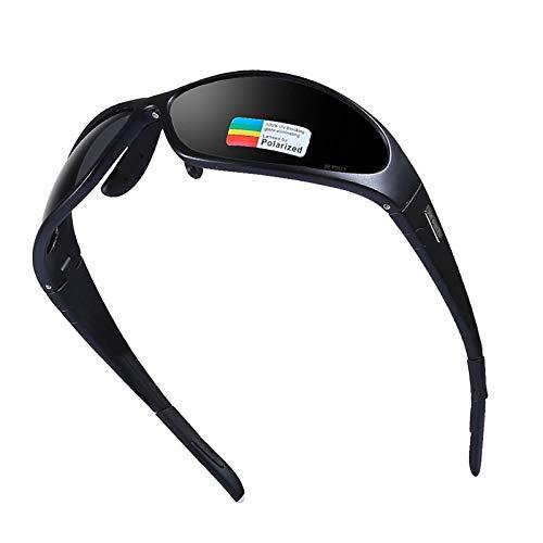 Daesar Arbeitsbrille Brillenträger Schwarz Sport Brille Winddicht Motorrad Brille Verspiegelt