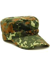 US Army Style BDU Combat Tactical Rip Stop Field Cadet Baseball Cap One Size Various Colours