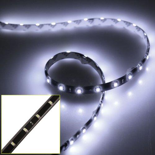 Preisvergleich Produktbild Wadoy 2 x 60cm 30 SMD LED Strip Streifen Licht Leiste Lichterkette Band Beleuchtung Weiss 12V