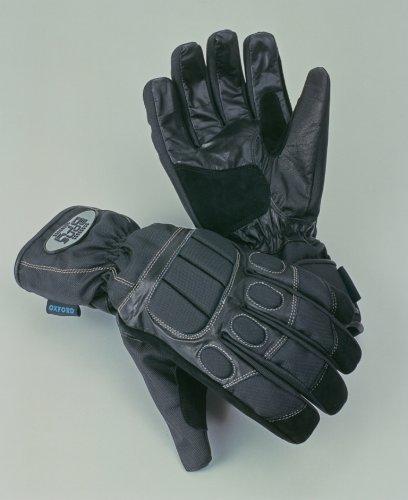 Oxford Bone Dry - Motorrad-Handschuhe - Textil - wasserdicht - Schwarz - S