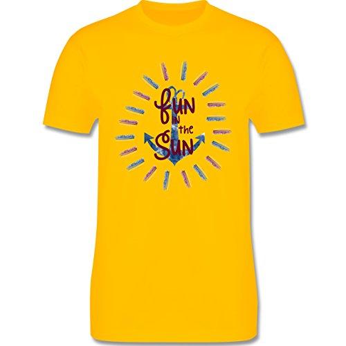 Statement Shirts - Fun in the sun - Herren Premium T-Shirt Gelb