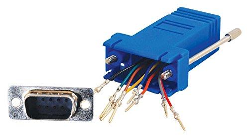 CABLESTOGO Cables to Go 81549 Modularadapter (RJ-45 auf DB9-Stecker) - Rj 45-db9